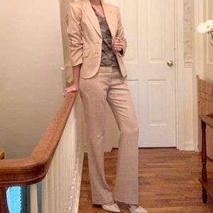 NWT•The Limited•Cassidy Fit Suit•XS Blazer•0 pant